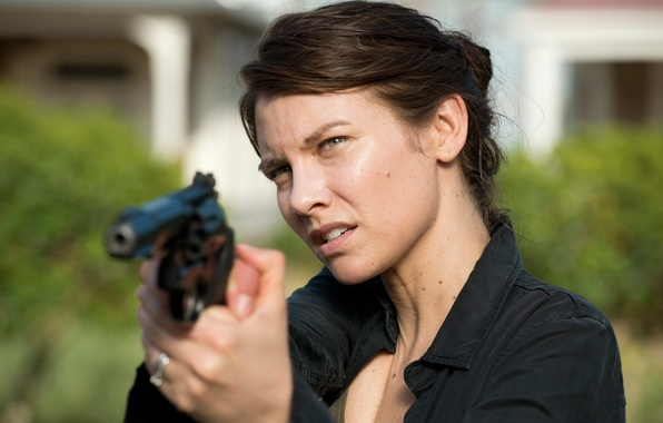 Picture Maggie, The Walking Dead, Lauren Cohan, Walking, the sixth season