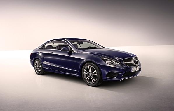 Picture Auto, Blue, Wheel, Machine, Mercedes, Mercedes, Mercedes Benz, e-class, Coupe