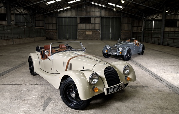 Picture Roadster, Sport, Morgan, Classic cars, 4/4