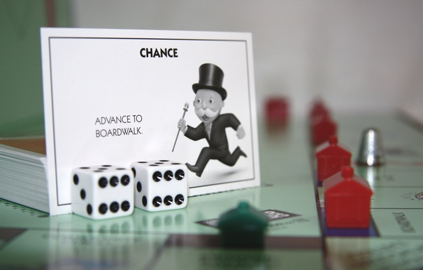 Picture The game, Cubes, House, Bones, Games, The hotel, Thimble, Monopoly, Card, The trick, Monopoly