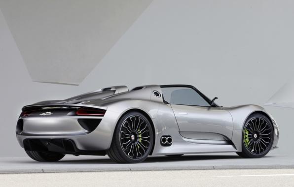 Picture Concept, background, Wallpaper, Porsche, the concept, Porsche, Spyder, 918