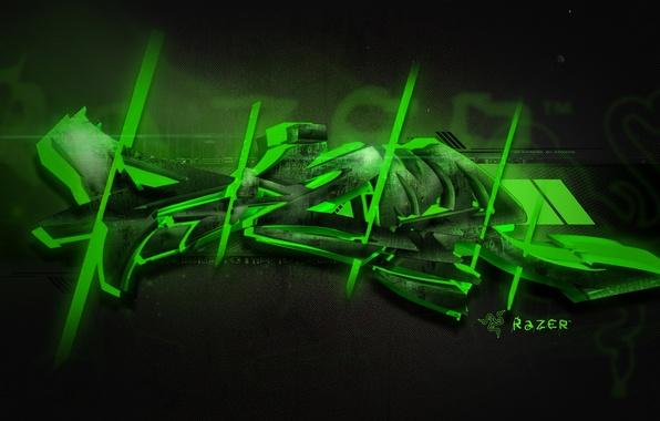 Picture Green, Graffiti, Razer
