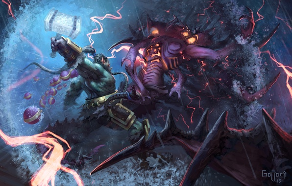 Picture World of Warcraft, diablo, Orc, warcraft, wow, art, hots, Heroes of the Storm, trall