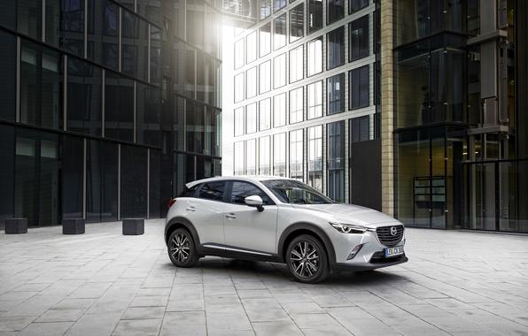 Picture white, Mazda, Mazda, SUV, 2015, CX-3