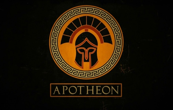 Picture background, the game, helmet, Apotheon