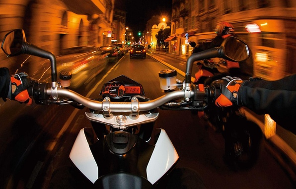 Picture view, 2008, face, motorcycle, moto, KTM, Super, first, bikes., off-road, manufacturer, nimble, small, Austrian, lightweight …