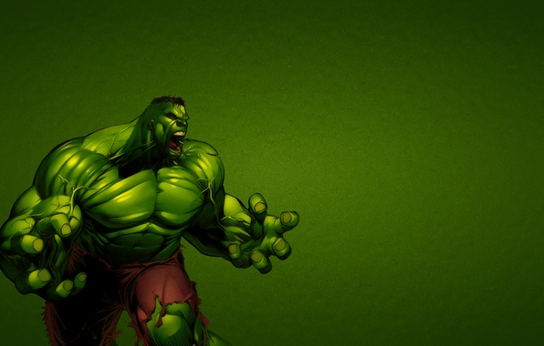 Picture green, fiction, rage, Hulk, marvel, hulk