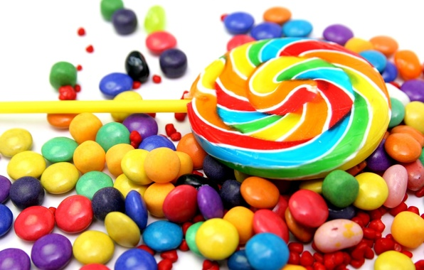 Picture food, candy, sweets, lollipops, Lollipop, colorful, pills