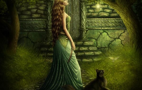 Photo Wallpaper Magic Tenderness Tale Beauty Fairytale