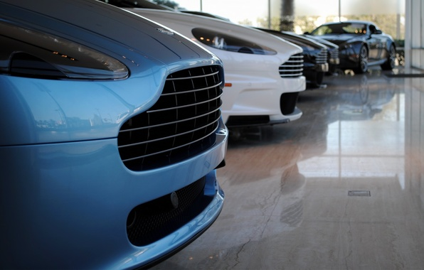 Picture Aston Martin, supercar, Line-Up