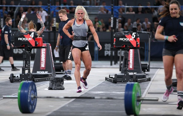 Wallpaper Blonde Fatigue Tiredness Competitor Reebok CrossFit Games Sara Sigmundsdottir Images For Desktop Section