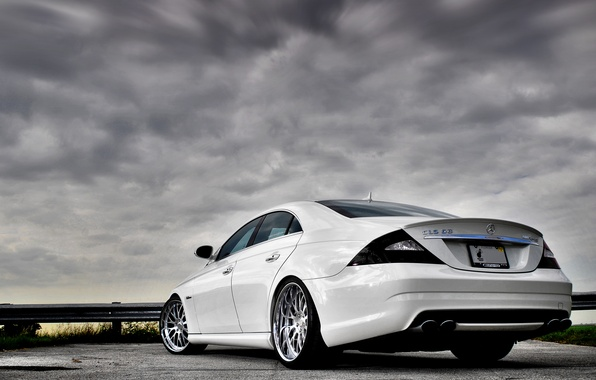 Picture the sky, mercedes-benz, amg, cls 63