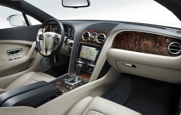 Picture machine, auto, beauty, continental, bentley, salon, continental, dashboard, torpedo, Bentley, Dzhi-ti