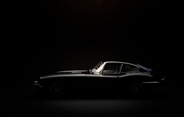 Picture jaguar, automonile, type-e