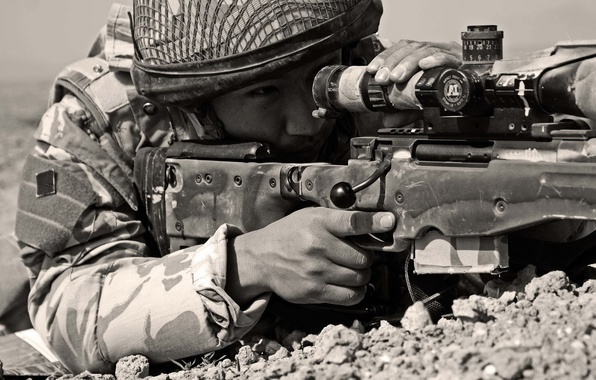 Picture sniper, Israel, sniper