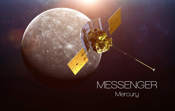 Picture satellite, mercury, messenger