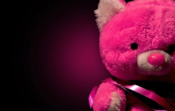 Picture red, Shine, red, sad, teddy bear, sad, Teddy bear, shine