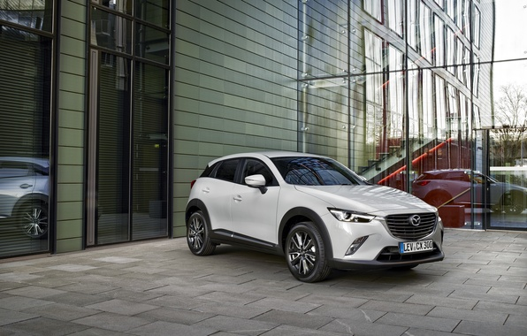 Picture white, Mazda, Mazda, SUV, 2015, CX-3