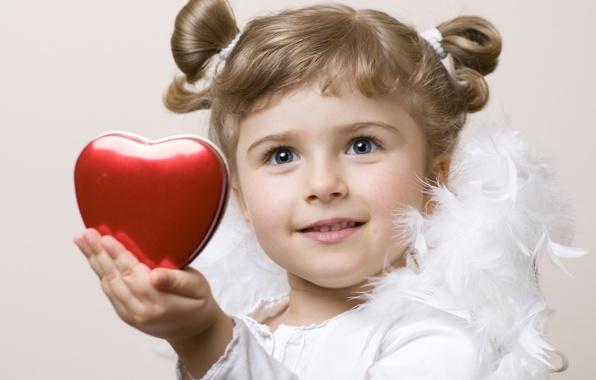 Picture love, children, childhood, heart, child, angel, feathers, love, heart, feathers, angel, child, childhood, children, cute …