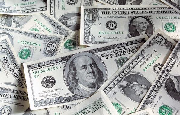 Picture money, dollars, the bucks