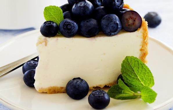 Picture berries, the sweetness, blueberries, pie, cake, cakes, berries, blueberries, pastries, sweetness