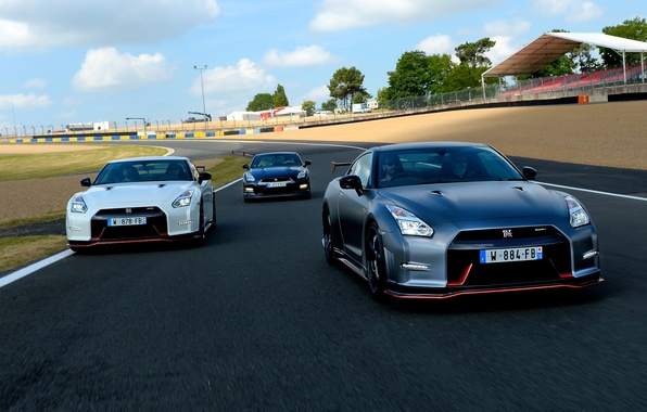 Picture photo, Nissan, cars, three, 2014, GT-R Nismo