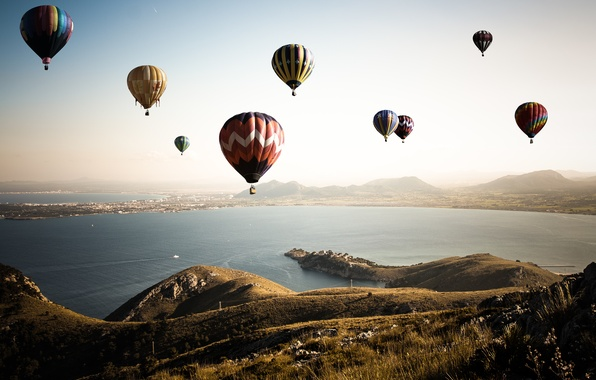 Picture the sky, flight, balls, ball, air, air, ballooning, photo, photographer, Andrés Nieto Porras