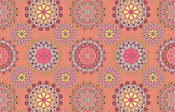 Picture pattern, texture, ornament, pink background