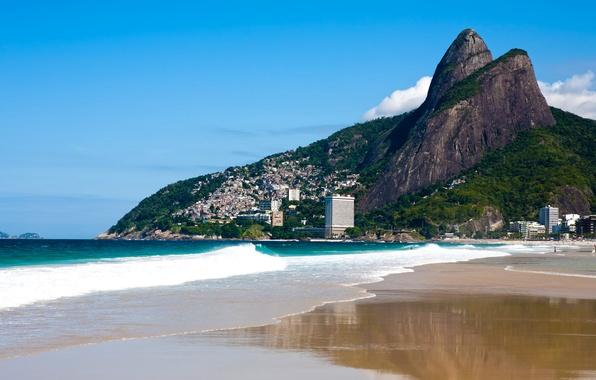 Picture photo, Nature, Mountains, Coast, Brazil, Rio de Janeiro