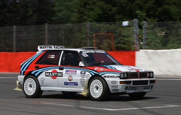 Picture speed, rally, Lancia, Delta, delta, Lancia, integrale