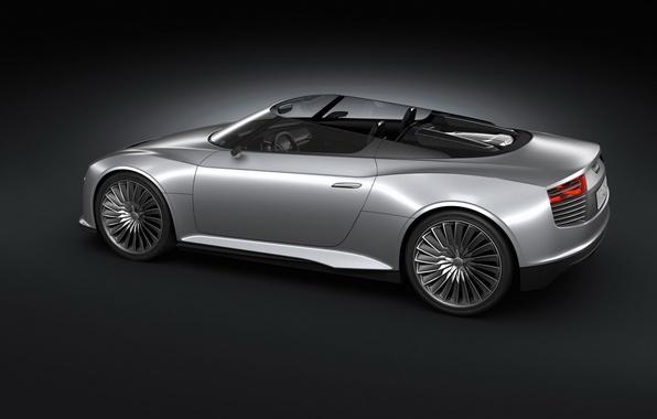 Picture Audi, 2010, e-tron, Spyder