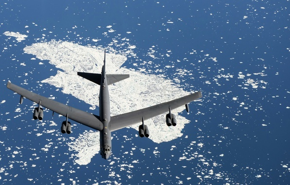Picture weapons, army, the plane, B-52