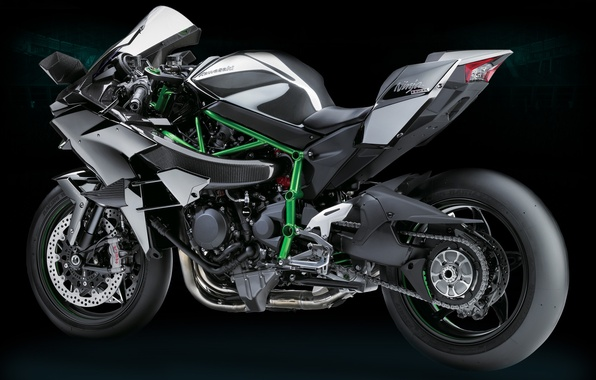 Photo Wallpaper Kawasaki Moto Bike Power Motorcycle Ninja H2R