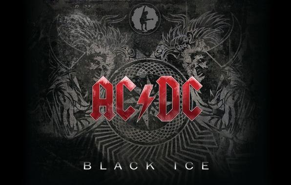 Picture Music, Wallpaper, Hard Rock, AC/DC, Black Ice, Rock'n'Roll, Blues Rock