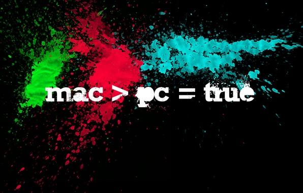 Picture squirt, black, color, Mac, APPLE