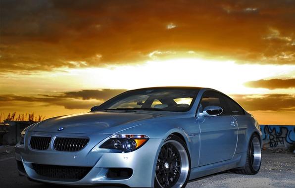 Picture the sky, BMW, grafiti