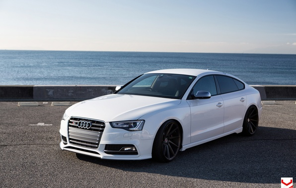 Picture car, Audi, japan, tuning, vossen wheels