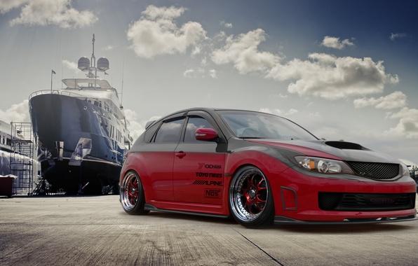Picture ship, subaru, impreza, Subaru, Impreza