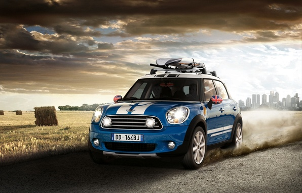 Picture Mini, Cooper, Countryman, Road, Machine, Movement, Machine, Car, Car, Cars, Cars, Road, Countrymen, Cooper, Mini