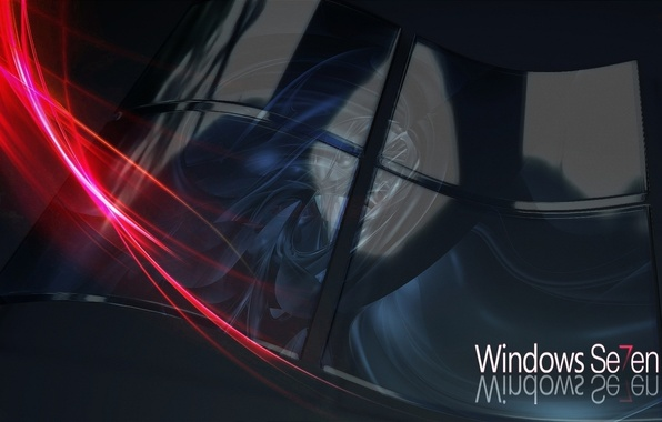 Picture Windows 7, Abstract, operating system