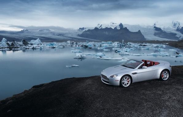 Picture Aston Martin, Vantage, iceberg, Roadster