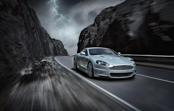 Picture car, machine, auto, Aston Martin, DBS