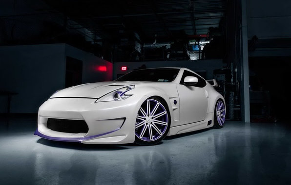 Picture car, auto, tuning, Nissan, Nissan 370Z