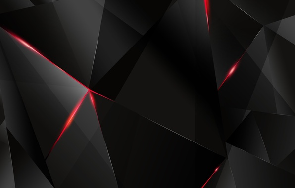 Picture light, Wallpaper, the darkness, angle, face, triangle, edge