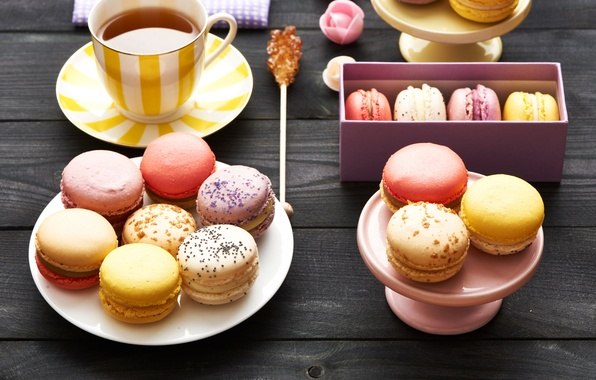 Picture colorful, cookies, dessert, sweet, dessert, cookies, macaron, macaron, almond