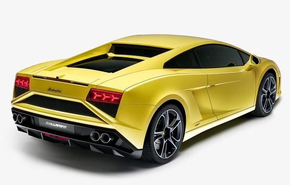 Picture Wallpaper, Lamborghini, Gallardo, back, Lamborghini, Gallardo, 2013, LP560-4