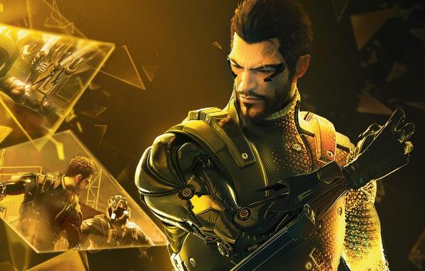 Picture memories, fragments, cyborg, Deus Ex: Human Revolution, Deus Ex, Human Revolution, Adam Jensen, Adam Jensen, …