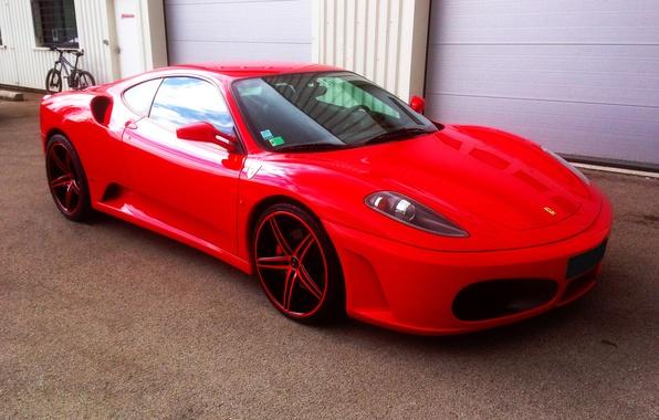Picture red, F430, Ferrari, red, Ferrari