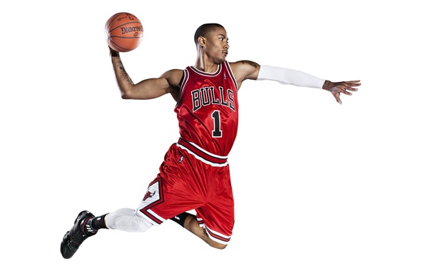 Picture White, The ball, Basketball, Background, Form, Tattoo, Adidas, NBA, Chicago Bulls, Derrick Rose, Bulls, First, …