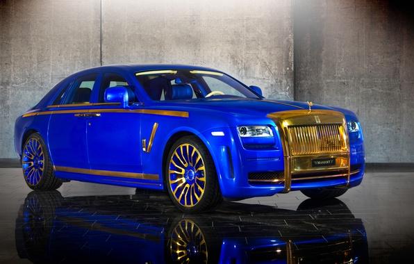 Picture Rolls-Royce, Ghost, Mansory, rolls-Royce